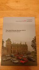 2011 Audi Gamme Revue Brochure Inc. S5, RS3, R8 V8 coupé édition limitée