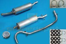 Schalldämpferset + Montagesatz PEUGEOT J5 1.8 2.0 1.9D 2.5D 1981-1994 Auspuff