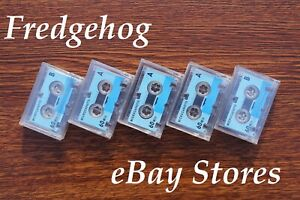 5 x AUDIO MICRO CASSETTES / TAPES FOR DICTAPHONES & ANSWER PHONES / ANSAPHONES