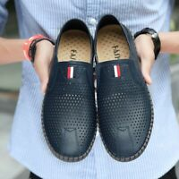 2019 Mens Summer Breathabloe Round Toe Loafers Flats Casual Shoes Light Cool new