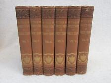THE COMPLETE WORKS OF ROBERT BURNS (Self-Interpreting) 1886 Gebbie & Co. 6 Vol's