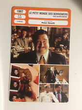 CARTE FICHE CINEMA 1997 LE PETIT MONDE DES BORROWERS John Goodman Jim Broadbent