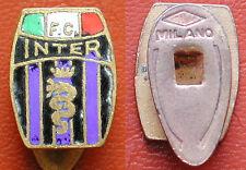 """DISTINTIVO CALCIO SCUDETTO INTERNAZIONALE FOOTBALL CLUB MARCATO """"MILANO / ITALY"""""""