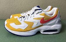 Nike Air Max 2 Light University Gold White Mens Sz 11.5 Running Shoes 1 90 95