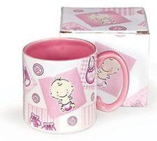 Button & Bows Baby Girl Coffee Mug