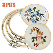 3x Embroidery Hoops Frame Set Tools for Brother Embroidery Machine Supplies