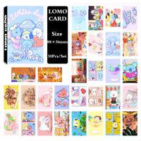 30Pcs/set KPOP Bangtan Boys BT21 Photo Card Poster Lomo Card PhotoCard
