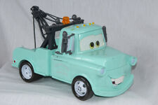"Disney Pixar Cars Blue Talking 11"" Tow Mater Talking Wrecker Model EX"