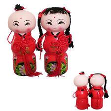 Statuettes tirelires chinoises, enfants porte bonheur