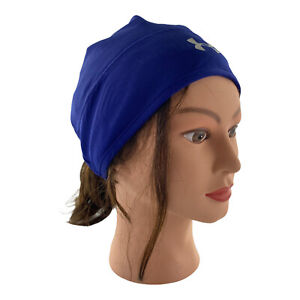 UNDER ARMOUR ColdGear INFRARED Reflective Women's Beanie Hat w/Ponytail Hole