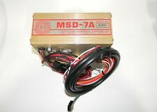 MSD 7A Ignition Box Analog CD Universal Electronic Excellent CONDITION