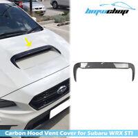 Carbon Fiber Bonnet Hood Intake Scoop Vent Cover for Subaru WRX 4th STI / Levorg