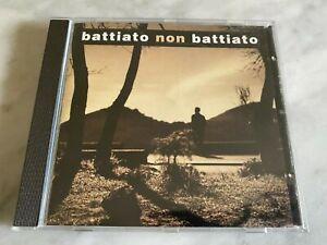 """CD """"BATTIATO NON BATTIATO"""" NMINT RARO FUORI CATALOGO, CONSOLI,NADA....ITALY 1996"""
