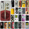 For Iphone 6 6S 7 8 PLUS 5 5S 3D Tape Ultra Thin Soft Silicone Phone Case Cover