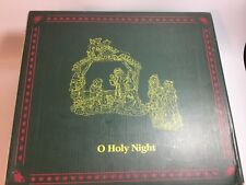 2009 Enesco Boyds Bearstone Collection O Holy Night Nativity Scene Set 4015619