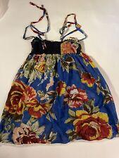 Sundress Girls Size  5 Dress Boutique Coverup Floral Lightweight 👗