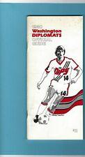 1980 Washington Diplomats Official Media Guide Johan Cruyff on cover