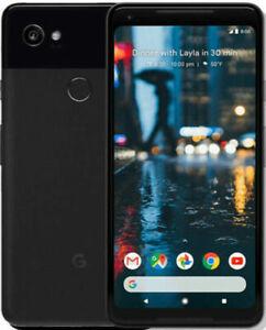 Neuf Google Pixel 2 XL - 64 Go - Juste Noir Débloqué Sans SIM Smartphone
