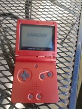 Nintendo GameBoy Advance SP AGS-001 Flame Red *TESTED Game Boy Fast Shipping