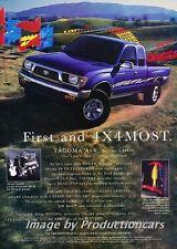 1997 Toyota Tacoma 4x4 Truck Original Advertisement Print Art Car Ad J676