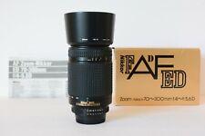 Nikon 70-300mm F/4.5-5.6 D ED Lens  FX Full Frame EXCELLENT (D600 D610 D750 etc)