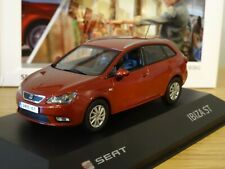 IXO SEAT IBIZA ST ESTATE MK4 DARK RED CAR MODEL SE05 1:43