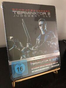 [BLU RAY 4K et 3D] STEELBOOK TERMINATOR 2.. Édition Neuve. Version rare.