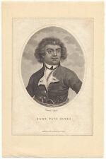 18th c. John Paul Jones Portrait Engraving