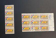 "Sc#1802 Stamps15c ""HONORING VIETNAM VETERANS"" Plate Block of 9, 5 stamps MNH"