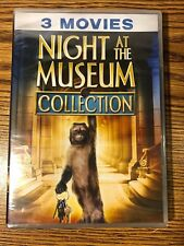 Night at the Museum Collection DVD 3-Disc Set Trilogy 1 2 3 Tomb Battle NEW KIDS