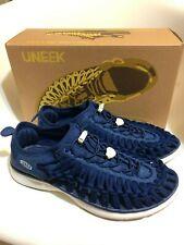 Keen Uneek O2 Estate Blue /Harvest Gold Sneaker Sandal Men's sizes 7-14/NEW