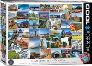 Globetrotter Canada 1000 piece jigsaw puzzle 680mm x 490mm (pz)