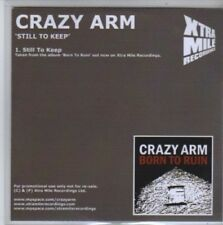 (BB112) Crazy Arm, Still To Keep - DJ CD