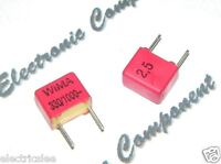 10pcs - WIMA FKP2 330P (330PF 0.33nF) 1000V pitch:5mm 2.5% Capacitor