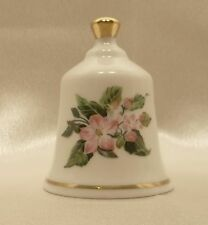 Vintage - Collector's Danbury Mint State Flower Bell - Arkansas Apple Blossom
