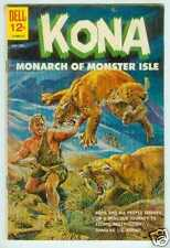 Kona, Monarch of Monster Isle # 4 (Dell USA, 1962)