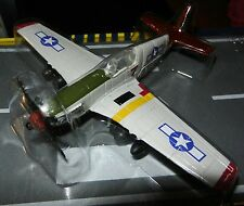 Runway24  RW190 Red Tails P-51 Mustang Tuskegee Airman 1:87 Scale Diecast Mint