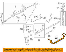 SUBARU OEM 09-13 Forester Steering Gear-Pipe Assembly 34190SC000