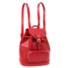 LOUIS VUITTON MINI MONTSOURIS BACKPACK HAND BAG RED EPI MONACO LIMITED JT09482