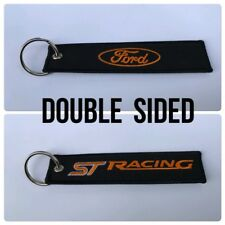 Car Embroidered Key Ring Keyring Keyfob Gift Ford ST Focus Fiesta Sport Tuning