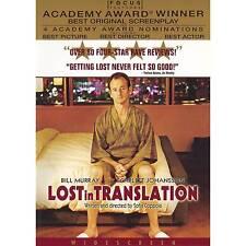 Lost in Translation 0025192395727 DVD Region 1