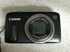 Canon PowerShot SX260 HS 12.1MP Digital Camera - Black