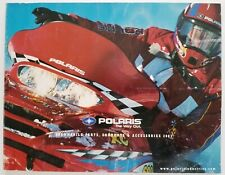 2001 Polaris Garments and Accessories Dealers Sales Brochure Catalog
