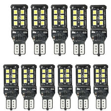 10X Bright White Canbus Error 15SMD CREE 2835 T15 W16W LED Reverse Backup Lights