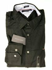 Tommy Hilfiger Mens Button Up Shirt Long Sleeve Stretch Fit Buttondown Collar