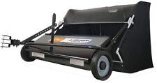 AllFitHD 42 in 22 cu ft Lawn Sweeper Outdoor Wheel Clean-Up Steel Garden Care
