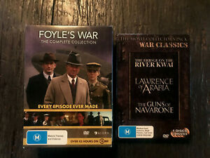 FOYLES  WAR Complete Collection + WAR CLASSICS