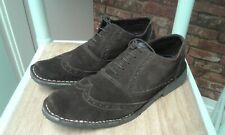 Mens ROAMERS Brown Suede Brogues/Shoes  , size 9/43