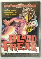 Blood Freak (DVD, 2002, Special Edition) CULT Horror Movie NEW/SEALED