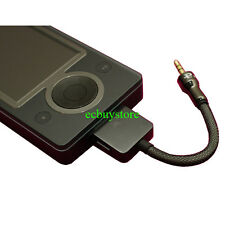 Zune 8G 30G MP3 Player Line Out LOD Interconnect Cable To Headphone Amplifier